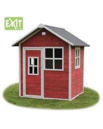 Exit - Loft 100 Rouge - Cabane pour enfants en bois