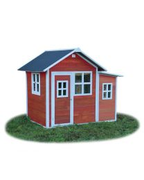 Exit - Loft 150 Rouge - Cabane pour enfants en bois
