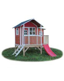 Exit - Loft 350 Rouge - Cabane pour enfants en bois
