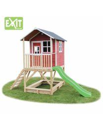 Exit - Loft 500 Rouge - Cabane pour enfants en bois