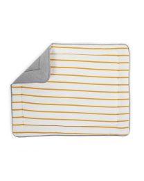 Childhome - Tapis De Parc/De Jeu - 75x95 cm - Jersey Ochre Stripes