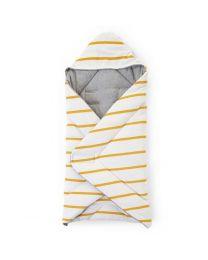 Childhome - Babywrapper Universel - 75x75 cm - Jersey Ochre Stripes