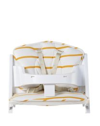 Childhome - Coussin De Chaise Evolutive Jersey - Ochre Stripes