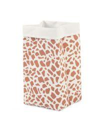 Childhome - Canvas panier - 32x32x60 cm - Blanc Giraffe