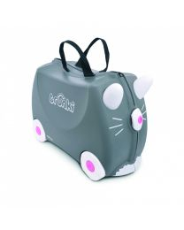 Trunki - Benny Chat - Ride-on et valise de voyage - Gris