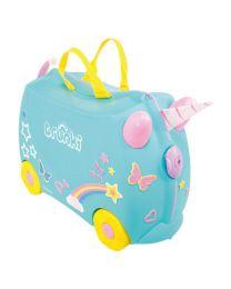Trunki - Una Unicorn - Ride-on et valise de voyage - Bleu