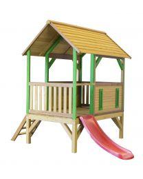 Axi - Maisonnette en bois pour enfants Akela