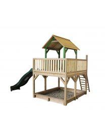 Axi - Maisonnette en bois pour enfants Atka