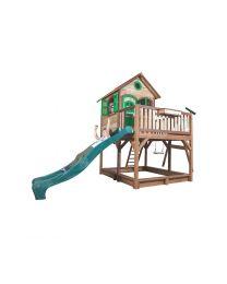 Axi - Maisonnette en bois pour enfants Liam (1 Balançoire)