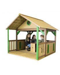 Axi - Maisonnette en bois pour enfants Zazou