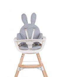 Childhome - Coussin De Chaise Rabbit Jersey - Gris