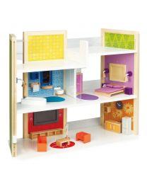 Hape - DIY Maison De Rêve - Maison de poupée en bois