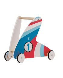 Hape - Step & Stroll - Racing Stripes - Porteur en bois