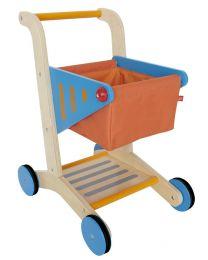 Hape - Shopping Cart - Panier d'achat en bois