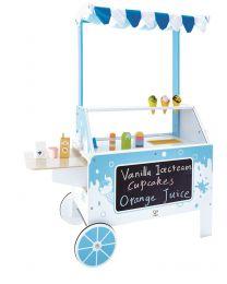 Hape - Ice Cream Emporium - Cuisine pour enfants en bois
