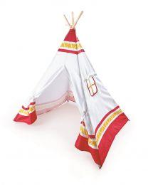 Hape - Tipi Tente de jeu - Rouge