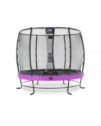 Exit - Elegant Premium Trampoline + Filet De Sécurité Deluxe - Violet