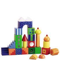 Haba - Blocs Fantaisie - Blocs de construction en bois