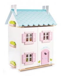 Le Toy Van - Blue Bird Cottage - Maison de poupées en bois