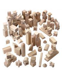 Haba - Set de base super grand – Blocs de construction - Bois