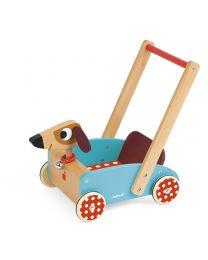 Janod - Crazy Doggy - Draisienne en bois