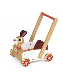 Janod - Crazy Rabbit - Draisienne en bois