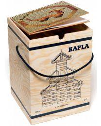 Kapla - Blocs de construction - 280 pièces + Livre Beige