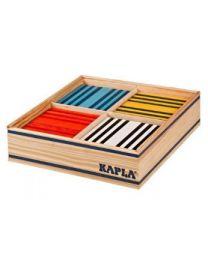 Kapla - Blocs de construction - 100 pièces - 8 couleurs