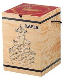 Kapla - Blocs de construction - 280 pièces + Livre Rouge
