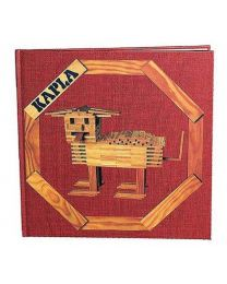 Kapla - Blocs de construction - Livre 1 - Rouge