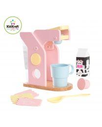 Kidkraft - Set Café Couleurs Pastel
