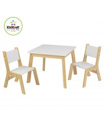 Kidkraft - Ensemble Table Moderne + 2 Chaises