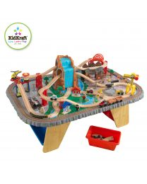 Kidkraft - Ensemble Train Et Table Waterfall