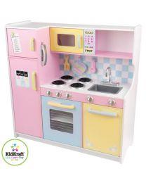 Kidkraft - Grande Cuisine pour enfants Pastel