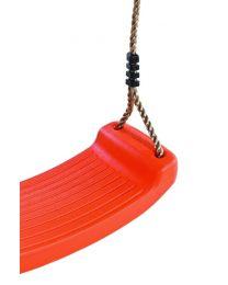 Durcolo - Balançoire en plastique Rouge - Accessoire de balançoire