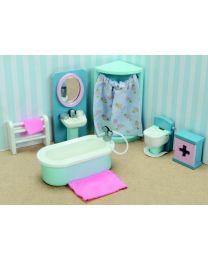 Le Toy Van - Daisylane - Salle de Bain - Pour la maison de poupée