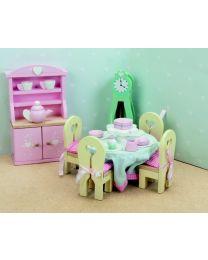 Le Toy Van - Daisylane - Salle à Manger - Pour la maison de poupée