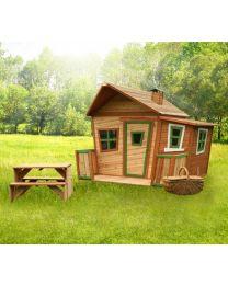 Axi - Maisonnette en bois pour enfants Lisa