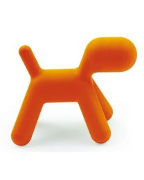 Magis Me Too - Puppy - L - Orange - Chien design