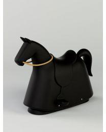 Magis Me Too - Rocky – Noir - Cheval à bascule en plastique