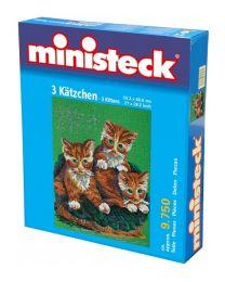 Ministeck - 3 Chats – 9750pcs - Pierres de mosaïque