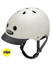 Nutcase - Street Silver Wavelength - MIPS - S - Casque de vélo (52-56cm)
