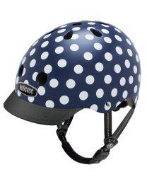 Nutcase - Street Navy Dots - M - Casque de vélo (56-60cm)