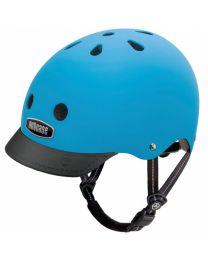 Nutcase - Street Bay Blue Matte - L - Casque de vélo (60-64cm)