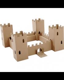 Paperpod - Château Fort en carton Brun