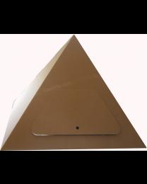 Paperpod - Pyramide en carton Brun