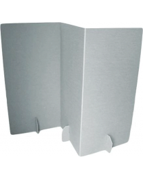 Paperpod - Paravent en carton (2x) Blanc