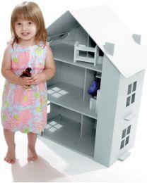 Paperpod - Maison de Poupée en carton Blanche