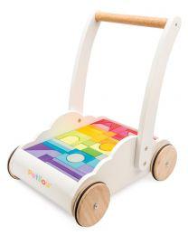 Le Toy Van - Trotteur Nuage & Arc-en-ciel - Porteur en bois