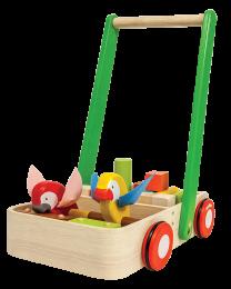 Plan Toys - Bird Walker – Porteur en bois